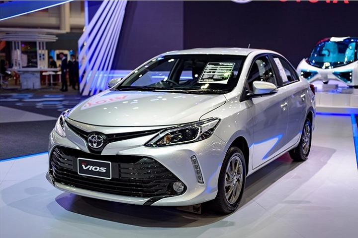 Giá xe Toyota Vios 2017