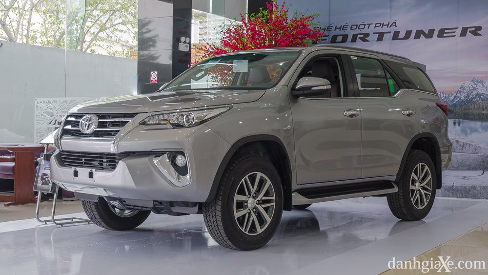 Giá xe Toyota Fortuner 2017